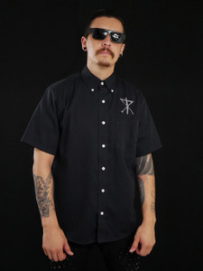 Christian Death Crucifix Logo Workshirt