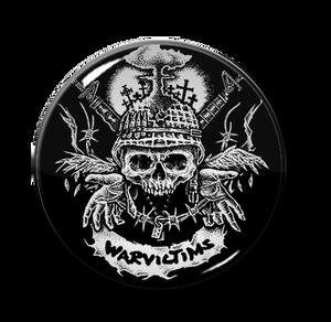 "Warvictims D-Beat Destruction 1.5"" Pin"