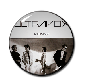 """Ultravox - Vienna 1.5"""" Pin"""