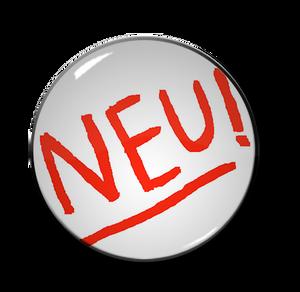 """Neu! - Logo 1.5"""" Pin"""