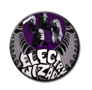 "Electric Wizard 1.5"" Pin"