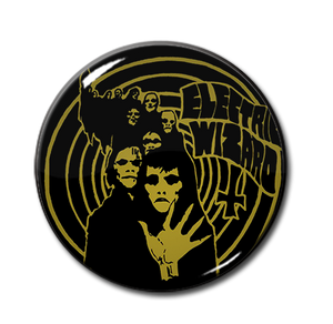 "Electric Wizard - Spyral 1.5"" Pin"