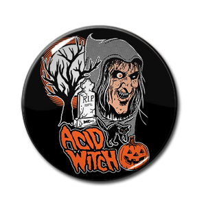 "Acid Witch - Halloween 1.5"" Pin"
