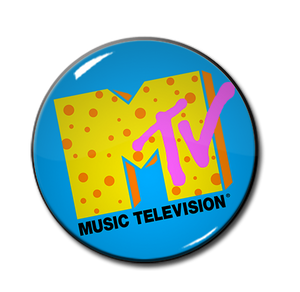 "90's MTV Logo 1.5"" Pin"