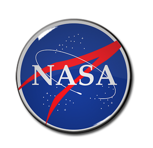 "Nasa Logo 1.5"" Pin"