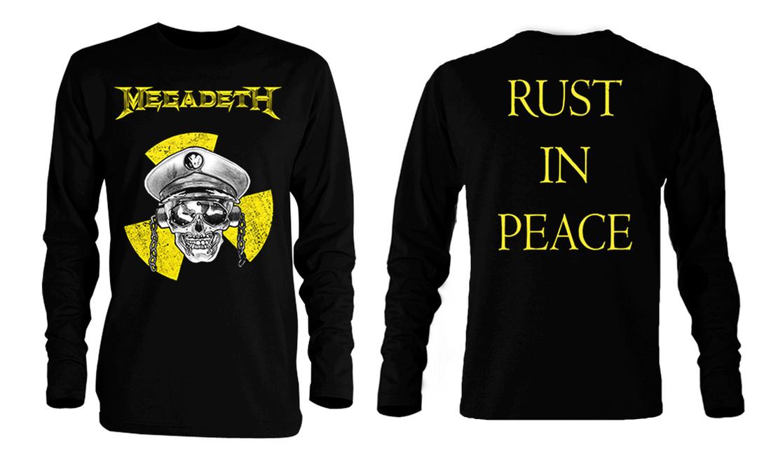 rust in peace t shirt