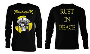 Megadeth - Radioactive Long Sleeve T-Shirt