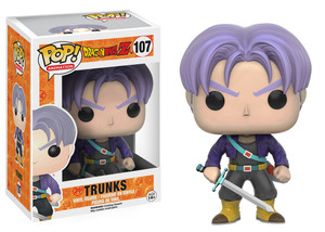 Pop! Figurines - DBZ's Future Trunks #107