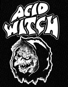 "Acid Witch Logo 4x6"" Printed Patch"