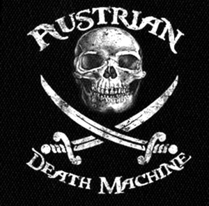 "Austrian Death Machine Logo 4x5"" Printed Patch"