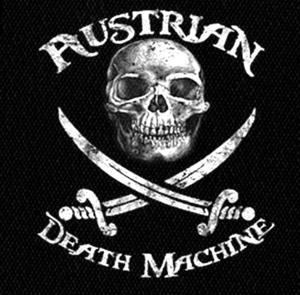 "Austrian Death Machine - Logo 4x5"" Printed Patch"