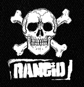 "Rancid Logo 5x6"" Printed Patch"