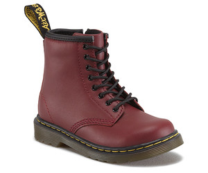 Dr. Martens Toddler Brooklee Softy T Boot in Cherry