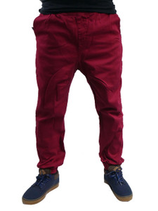 Sporty Skinny Pants with  Adjustable Chord