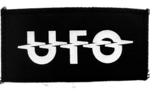 "UFO - Logo 7x4"" Printed Patch"