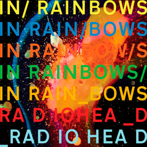 "Radiohead - Rainbows 4x4"" Color Patch"