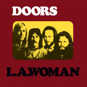 "Doors - L.A. Woman 4x4"" Color Patch"