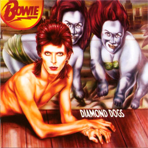 "David Bowie - Diamond Dogs 4x4"" Color Patch"