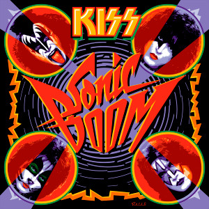 "Kiss - Sonic Boom 4x4"" Color Patch"