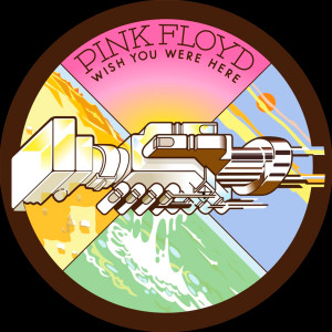 "Pink Floyd - Wish You Were Here 4x4"" Color Patch"