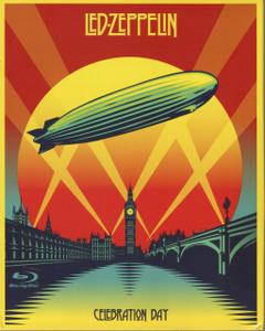 """Led Zeppelin - Celebration Day 4x4"""" Color Patch"""