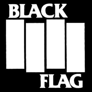 "Black Flag Logo 5x5"" Printed Sticker"