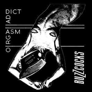 "Buzzcocks - Orgasm Addict 5x5"" Printed Sticker"