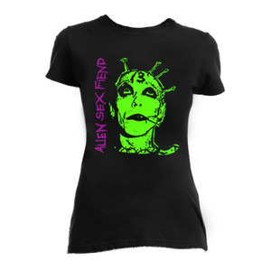 Alien Sex Fiend - Face Blouse T-Shirt