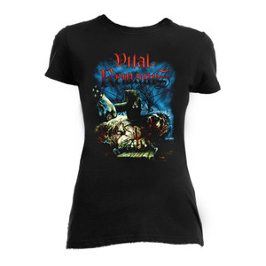 Vital Remains Icons of Evil Girls T-Shirt * LAST IN STOCK * HURRY!!