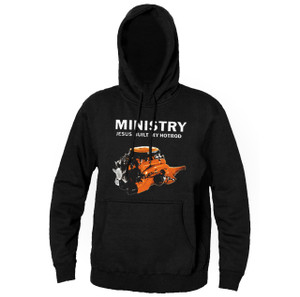 Ministry - Jesus Built My Hot Rod Hooded Sweatshirt