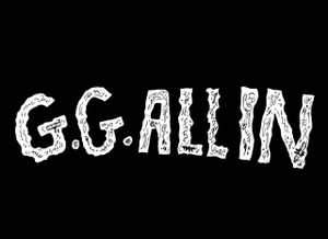 "G.G. Allin 5.5x4"" Printed Sticker"
