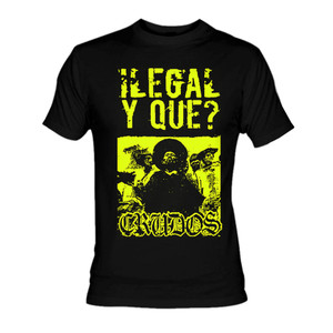 Los Crudos - Ilegal y Que? T-Shirt