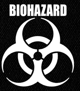 "Biohazard Logo 5x5"" Printed Patch"
