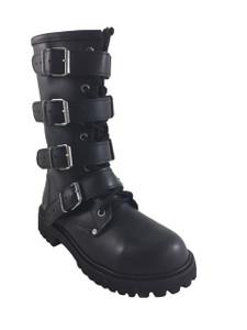 Road Warrior - Furiosa 409 Women's 4-Strap Harness Boots