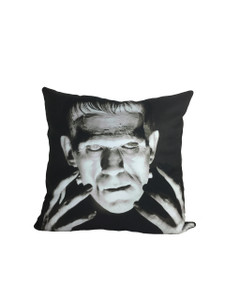 Frankenstein's Monster Throw Pillow