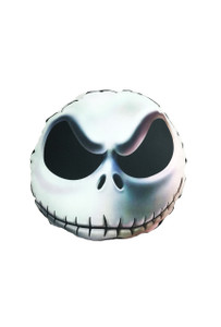 TNBC's Jack Skellington Round Throw Pillow