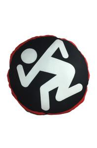 D.R.I. Dancing Guy Throw Pillow