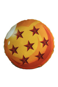 Dragon Ball's 7 Star Throw Pillow
