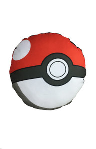 Pokemon's Pokeball Throw Pillow