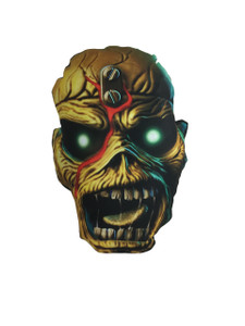 Iron Maiden's Eddie the Head Throw Pillow