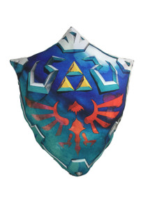 Nintendo Zelda's Link's Shield Throw Pillow