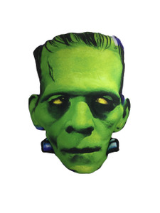 Frankenstein's Head Throw Pillow