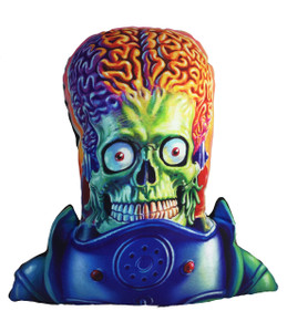 Mars Attacks! Throw Pillow