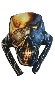 Megadeth's Vic Rattlehead Throw Pillow