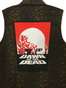 "Dawn of the Dead 13.5"" x 10.5"" Color Backpatch"