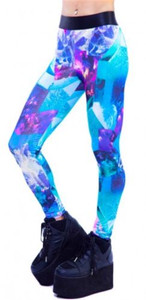 Lip Service - Galaxy Crystal Leggings