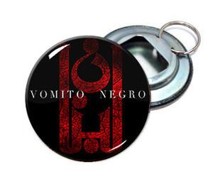 """Vomito Negro 2.25"""" Metal Bottle Opener Keychain"""