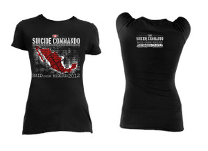 Suicide Commando - Mexico 2012 Blouse T-Shirt