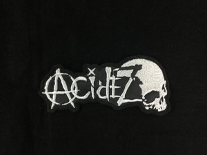 """Acidez 4x2"""" Embroidered Patch"""