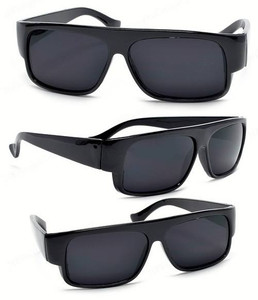 Black Wayfarer Style Sunglasses
